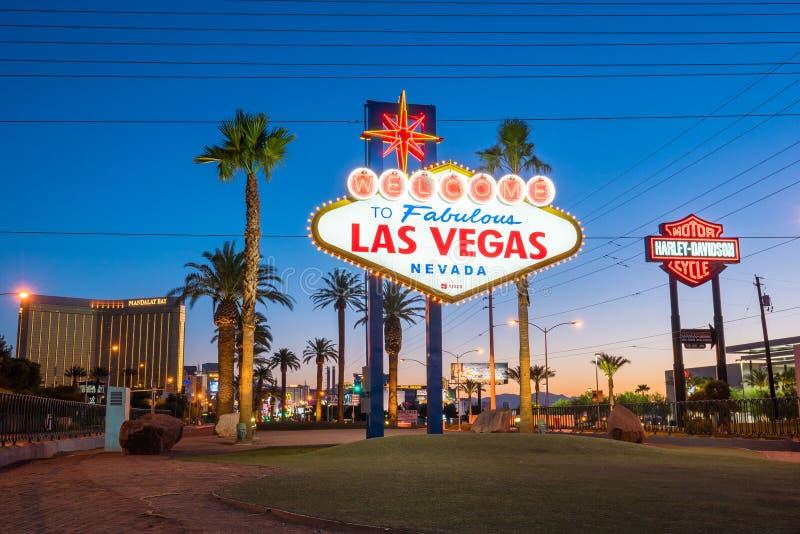 Las- Vegaszeichen stockfotos