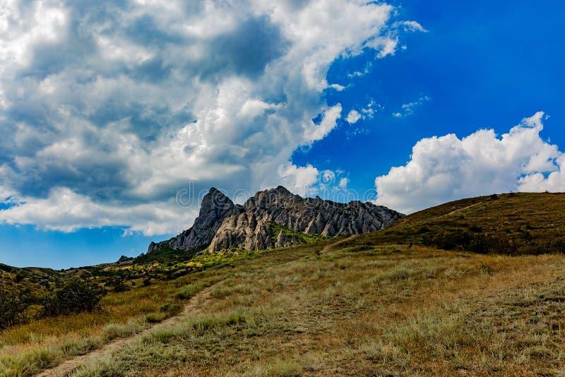 Las vistas y la belleza de la naturaleza de Crimea Paisajes de Crimea fotos de archivo libres de regalías