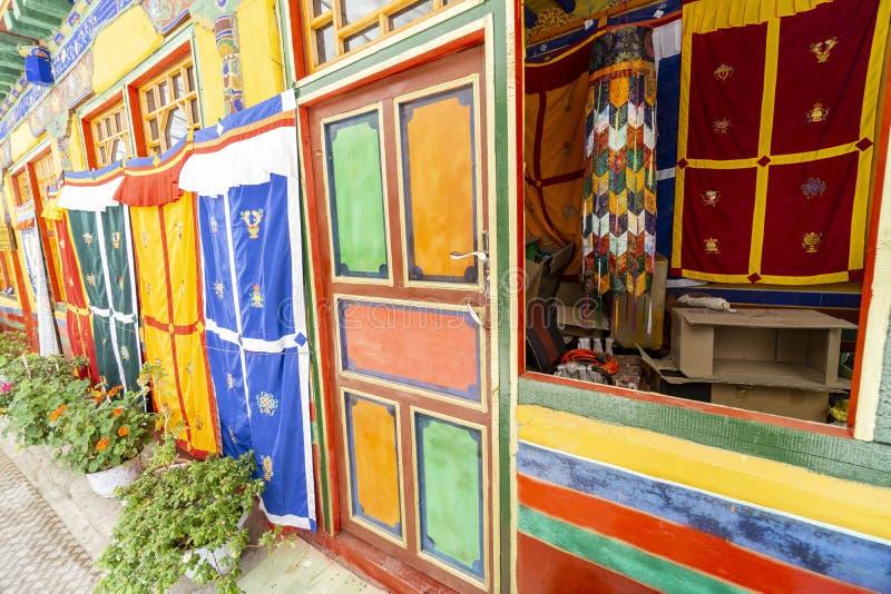 Lasa Tíbet anterior ahora China, monasterio de Drepung imagen de archivo libre de regalías