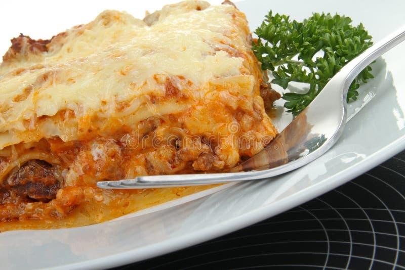 Lasagna fotografia de stock royalty free