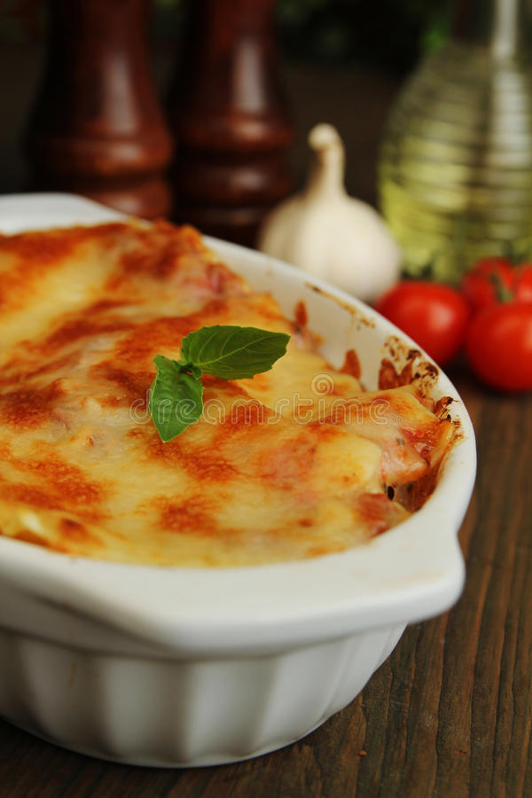 Download Lasagna stock photo. Image of baked, food, portion, cooking - 27782492