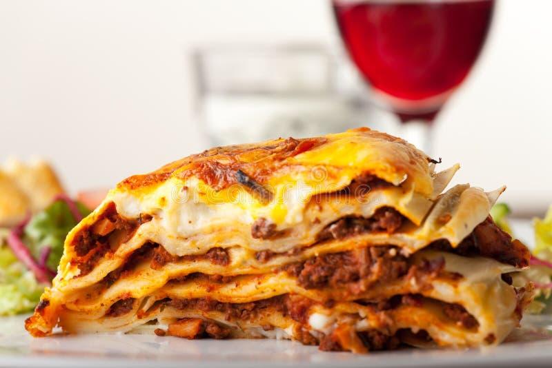 Lasagna obrazy stock