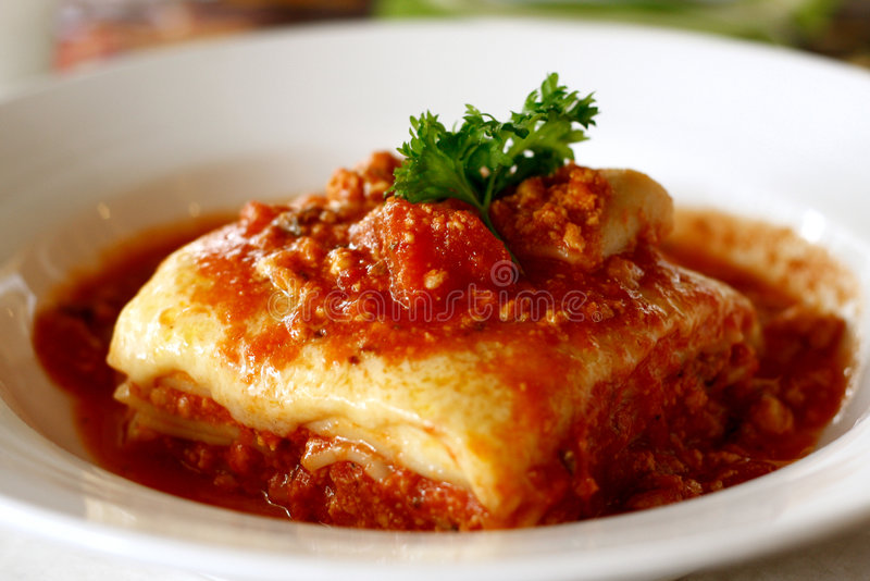 Download Lasagna stock photo. Image of cuisine, cheese, light, tomato - 5308104