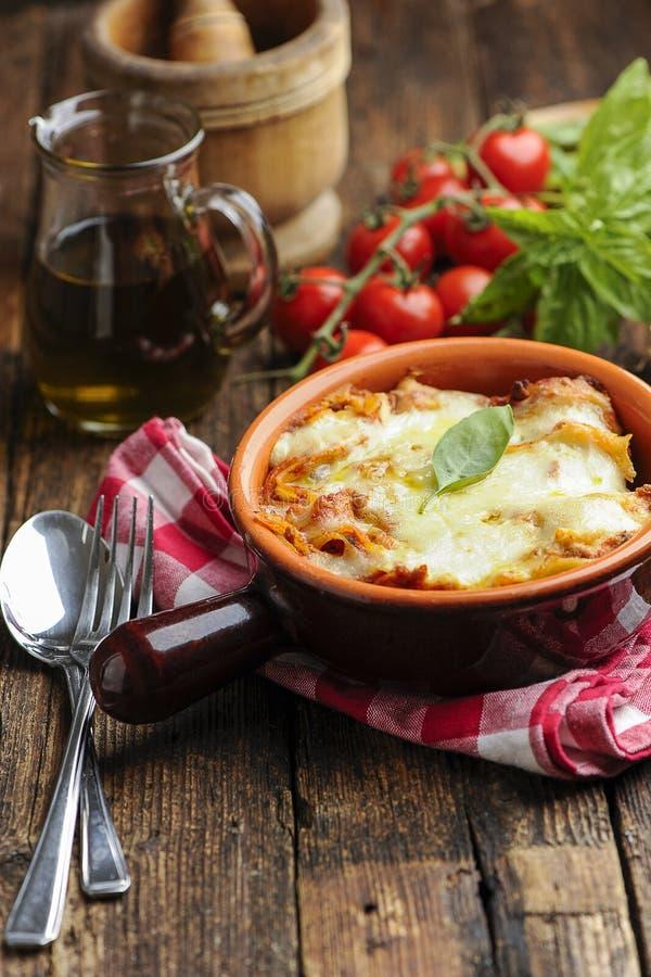 lasagna bolognese fotografia royalty free