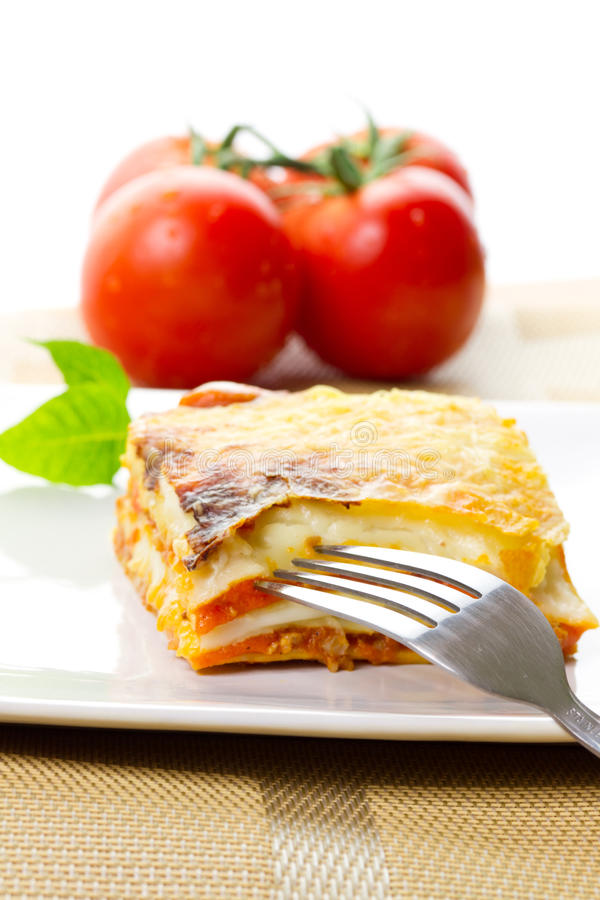 Download Lasagna dish stock image. Image of background, italian - 21178107