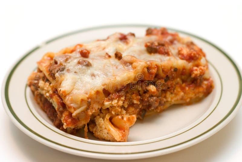 Lasagna Dish royalty free stock photography