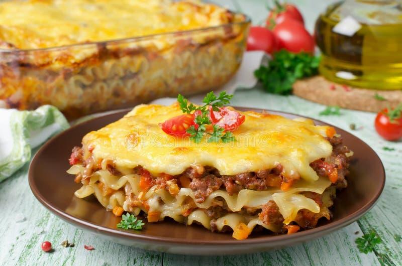 Lasagna italiano tradizionale fotografia stock