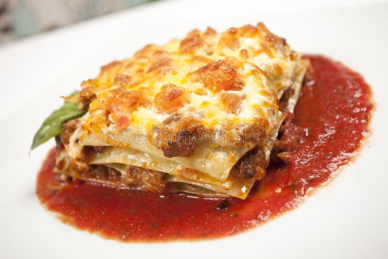 Lasagna arkivbilder