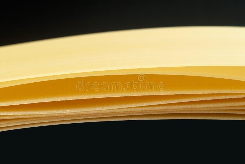 Lasagna Pasta Sheets Royalty Free Stock Image