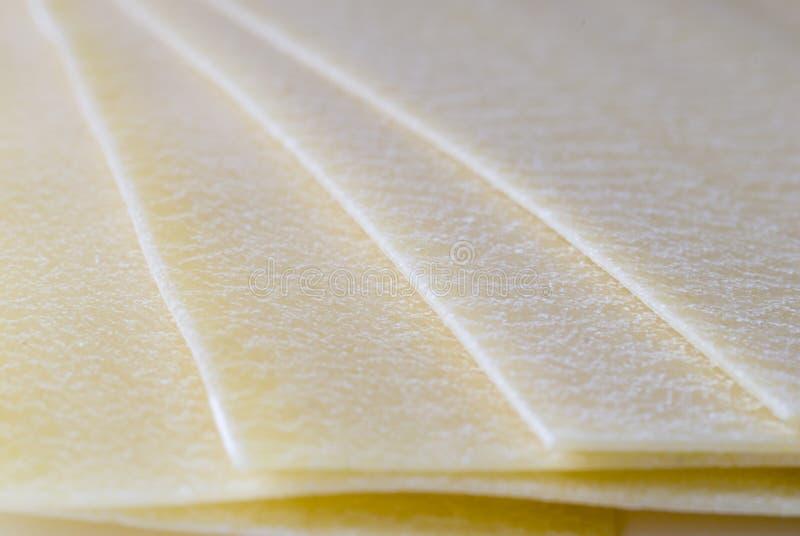 Lasagna Sheets royalty free stock photography