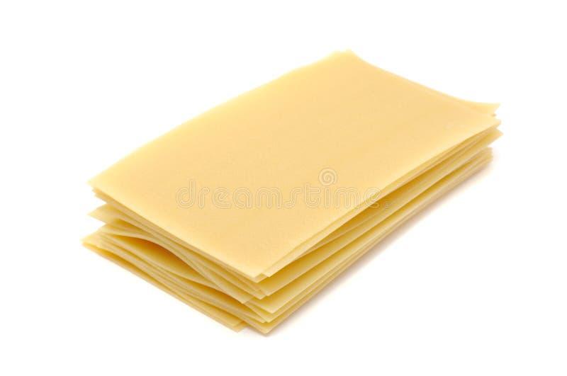 lasagnapasta arkivfoto