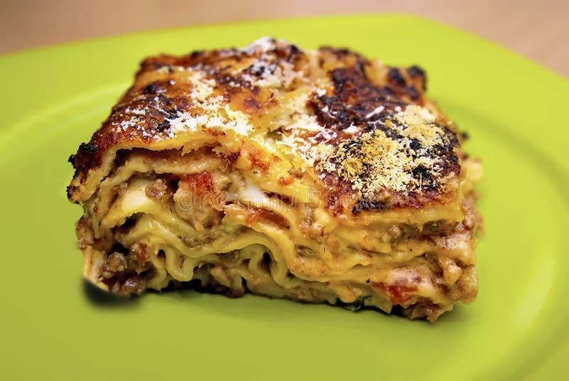 Lasagne photo stock