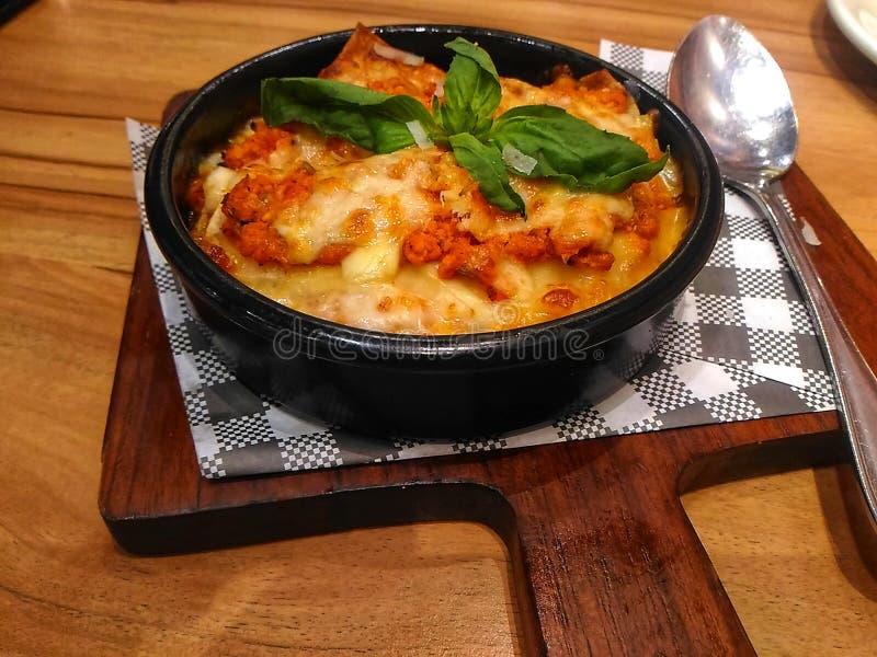 Lasagne fotografia stock