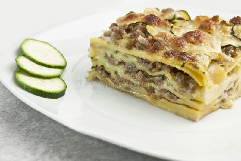 Lasagne lizenzfreies stockbild