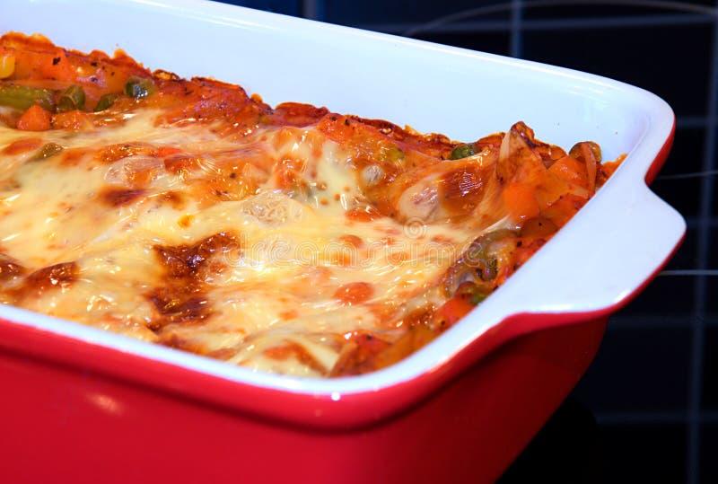 lasagne 3 стоковое изображение