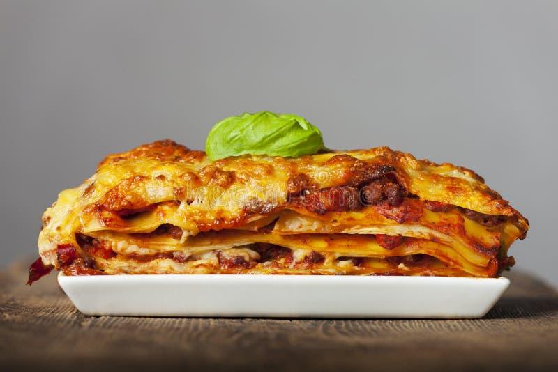 lasagne photographie stock libre de droits