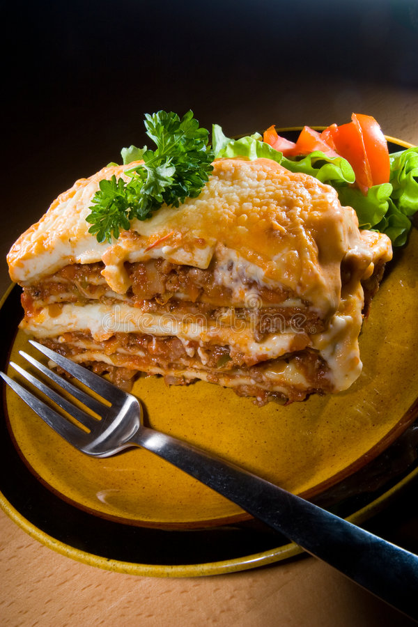 Lasagne Stock Photography