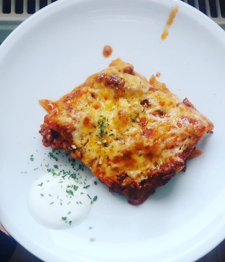 Lasagne στοκ εικόνα με δικαίωμα ελεύθερης χρήσης