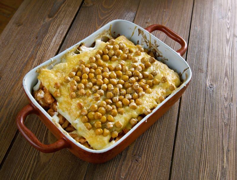 Lasagne algérien chaud photos stock
