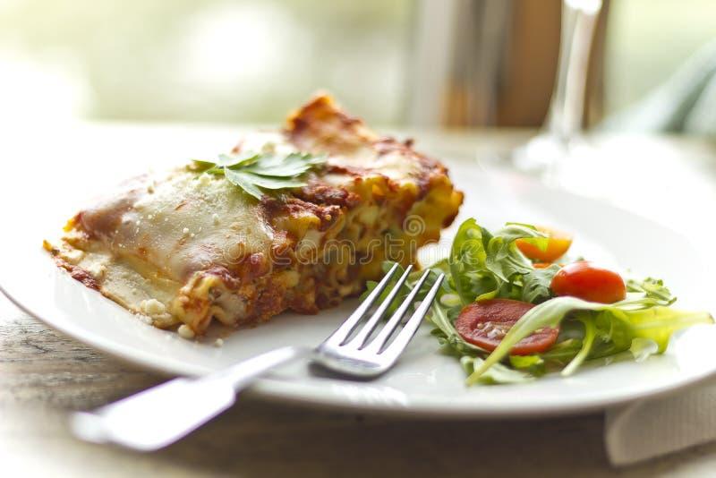 Lasagne de fromage images stock