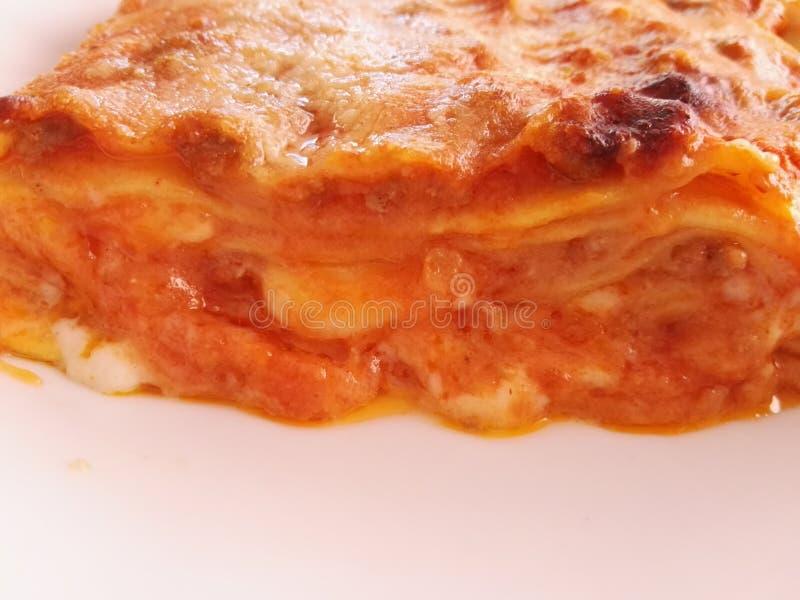 Lasagne italien photographie stock