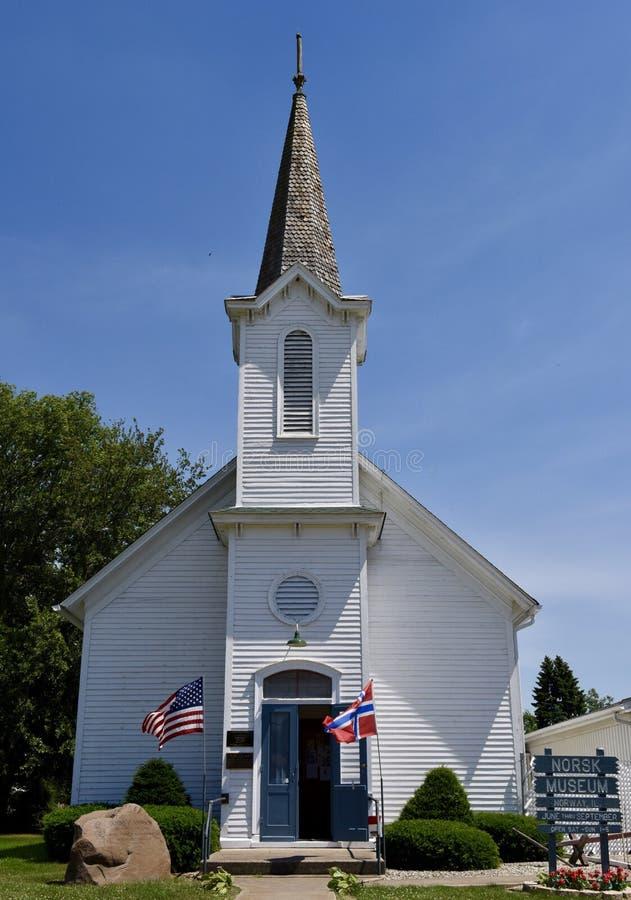 Lasalle County Kirche lizenzfreie stockbilder