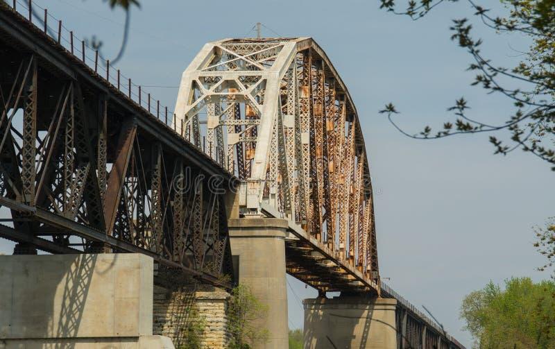 LaSalle Eail most zdjęcia stock