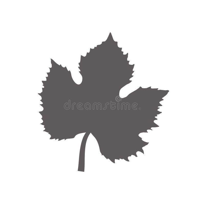lasci la progettazione dell'albero dell'uva royalty illustrazione gratis