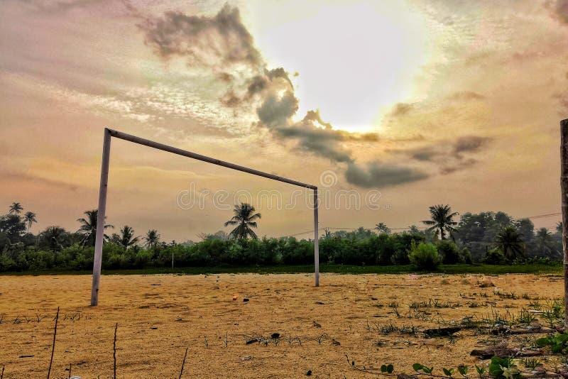 Lascia il calcio fotografia stock libera da diritti