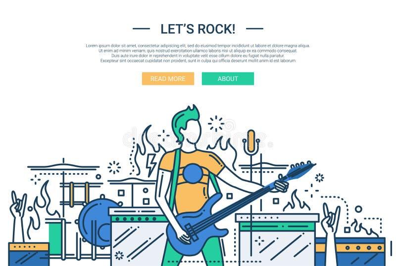 Lascia la linea di roccia insegna del sito web di for Sito web di progettazione di pavimenti