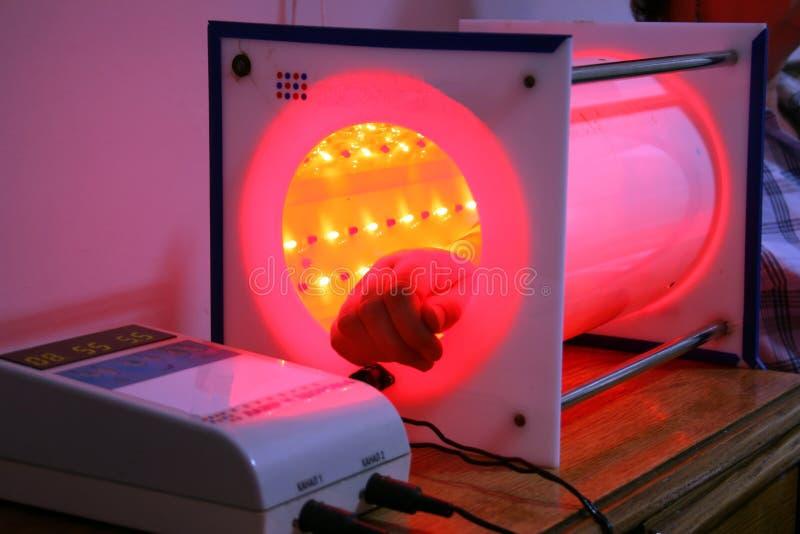 Laser Photographie stock libre de droits