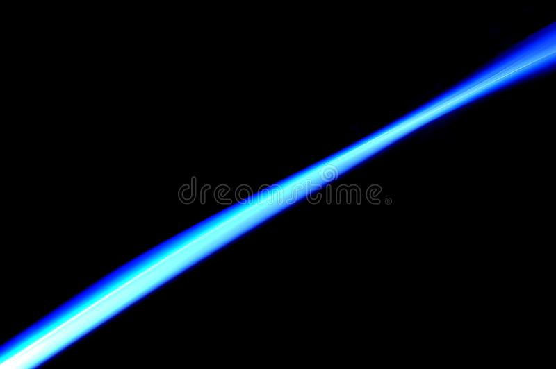 Laser azul ilustração royalty free