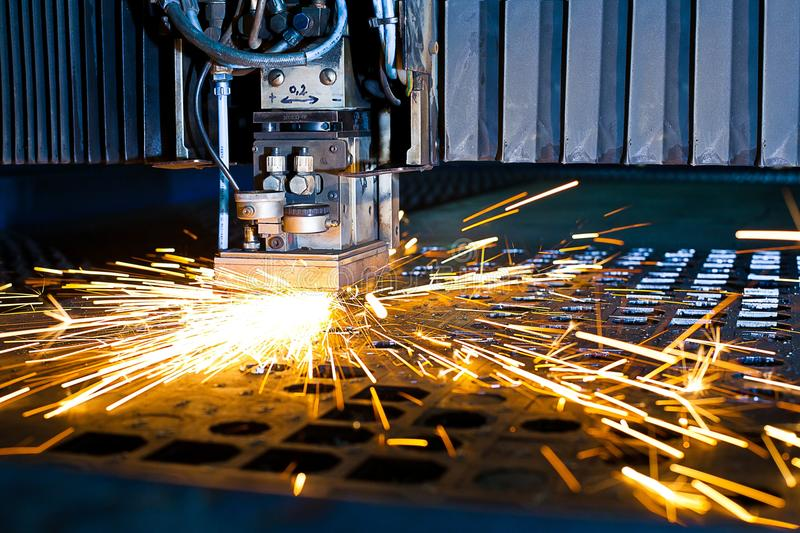Download Laser close-up stock photo. Image of danger, cutting - 18574580