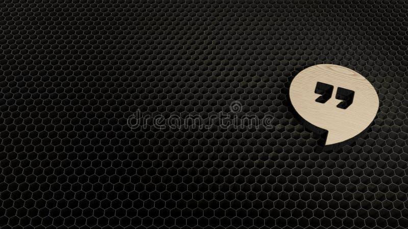laser cut plywood symbol of symbol stock illustration