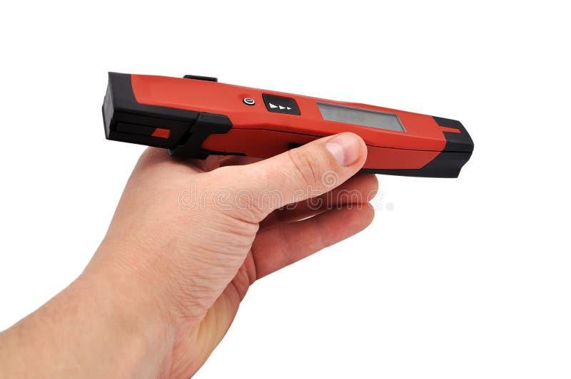 Laser Distance Meter Stock Photo