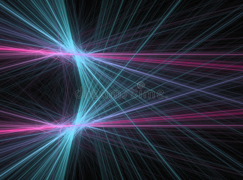 Laser of energy royalty free illustration