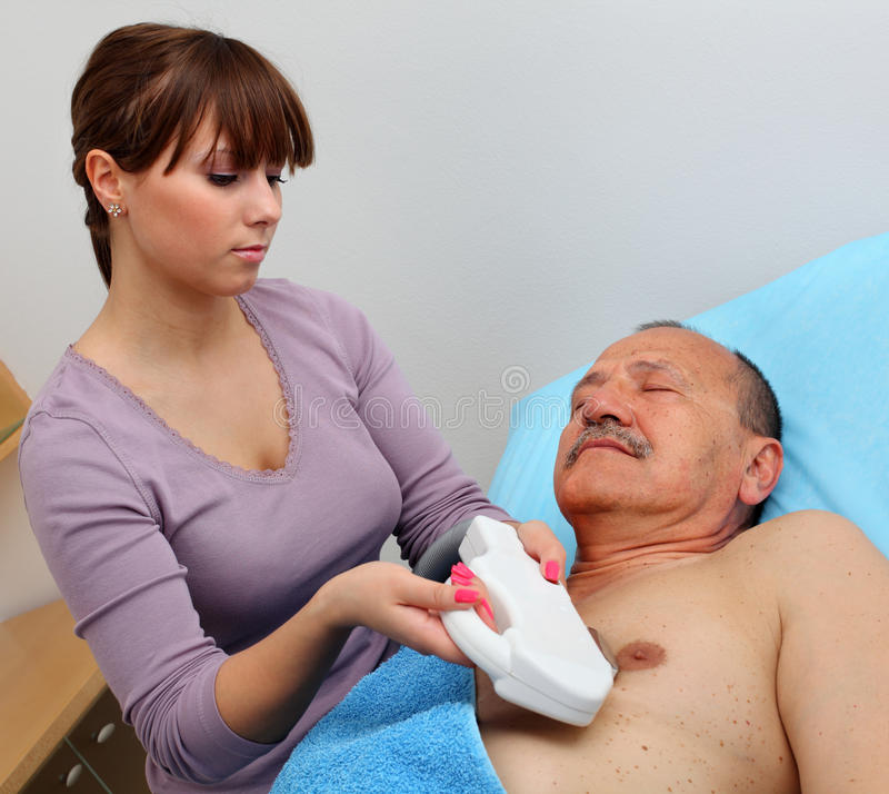 Laser hair removal royalty free stock image