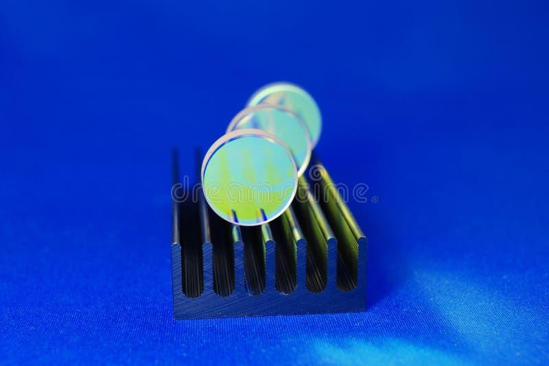 Laser-Industriespiegel lizenzfreie stockfotografie