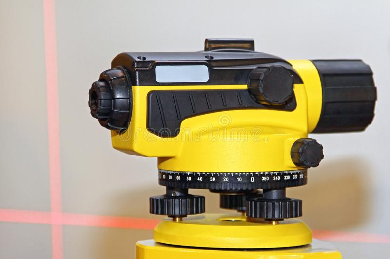Laser Level Device royalty free stock photos