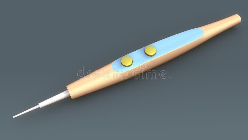 Laser medico illustrazione di stock