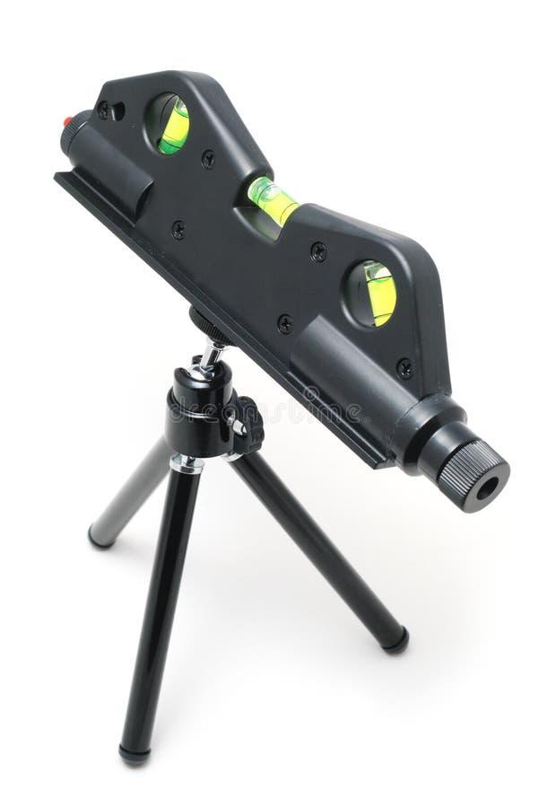 laser-nivåhjälpmedel arkivfoto