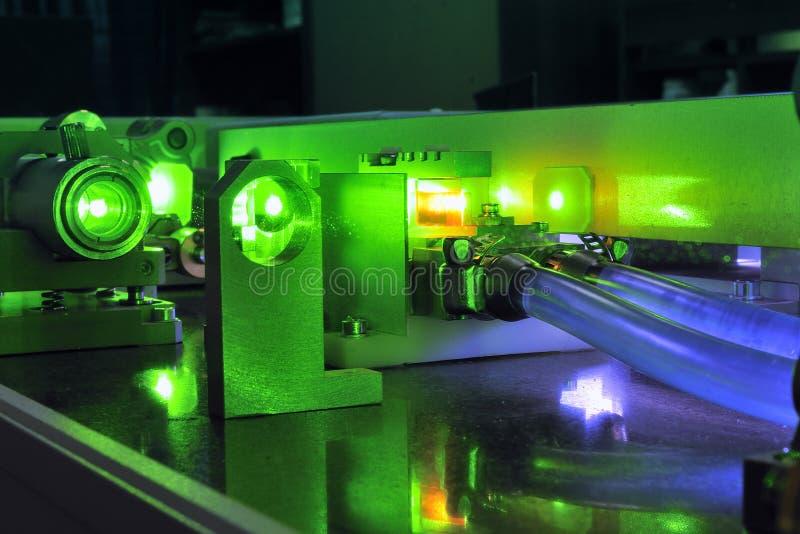 Laser poderoso imagem de stock royalty free