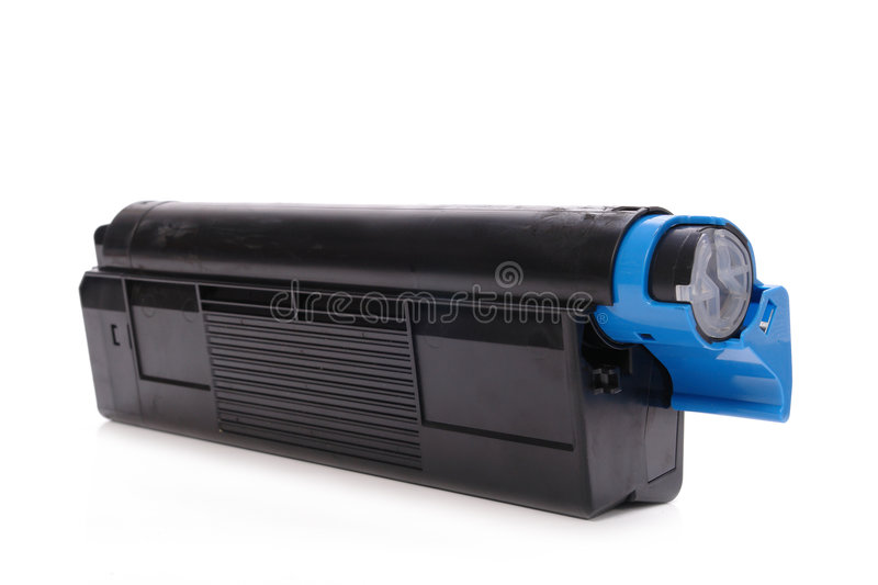 Laser printer toner cartridge stock photography