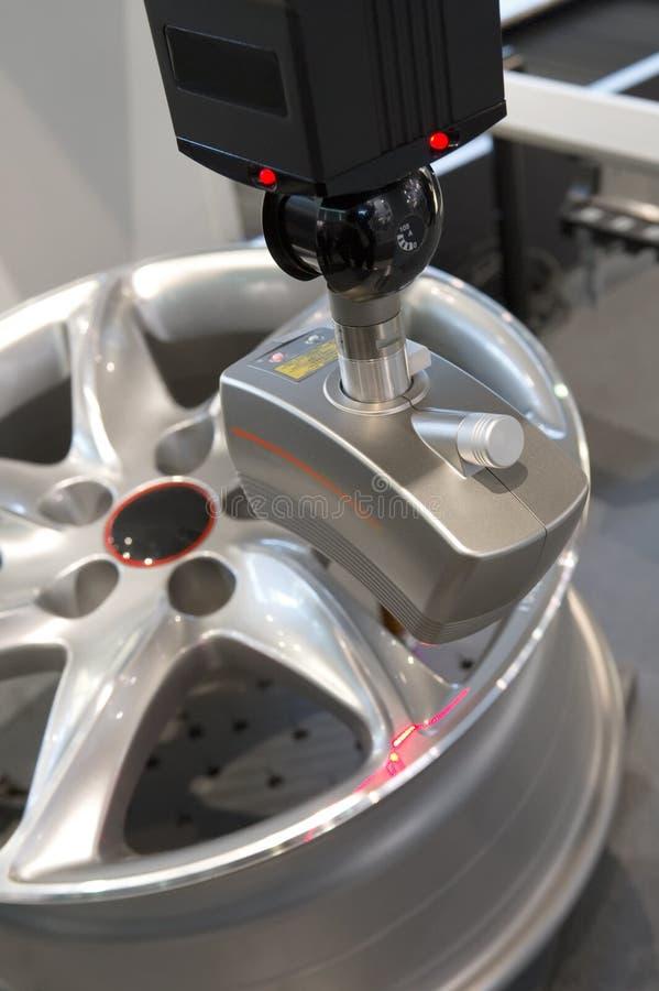 laser-probe arkivfoton