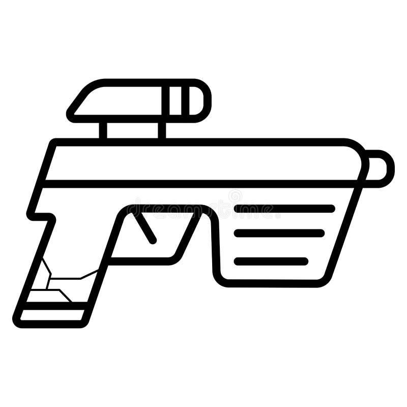 Laser Ray Gun del espacio libre illustration