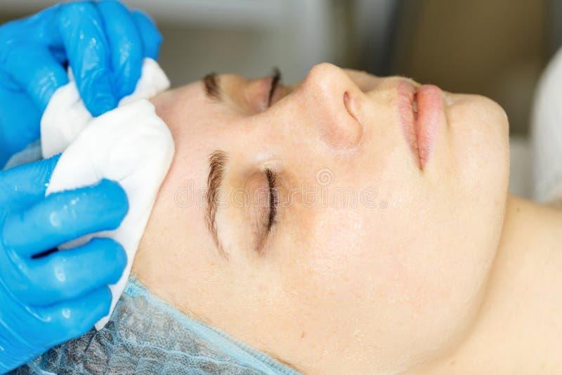 Laser RF-rejuvenation. Elos rejuvenation stock image