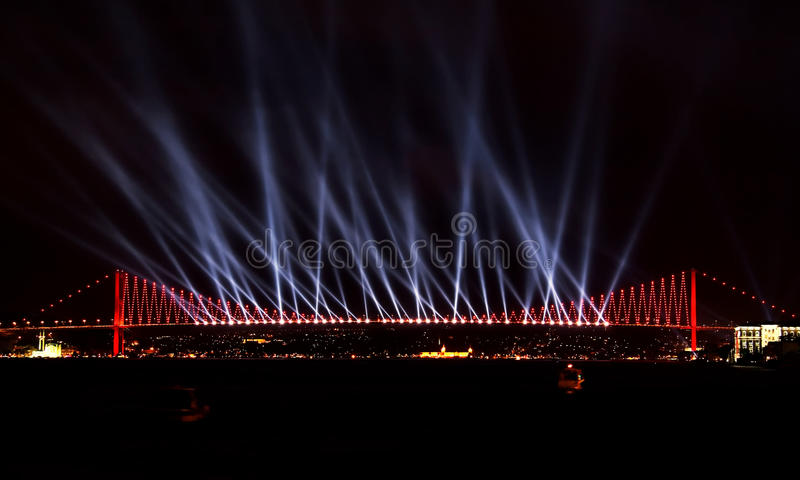 Download Laser Show At Bosporus, Istanbul Stock Photo - Image: 11757550
