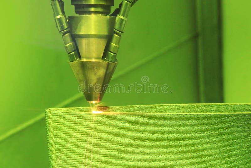 3D printer printing metal royalty free stock photography