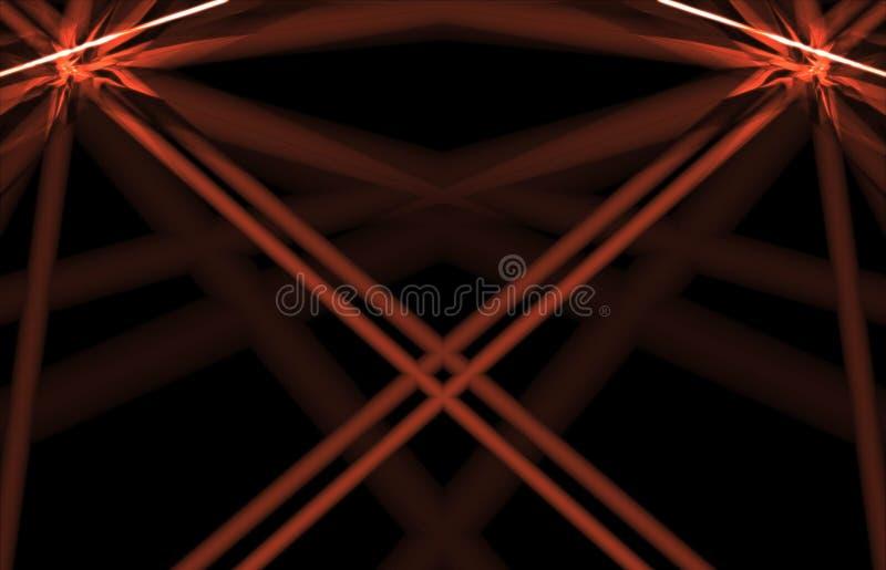 laser tło royalty ilustracja