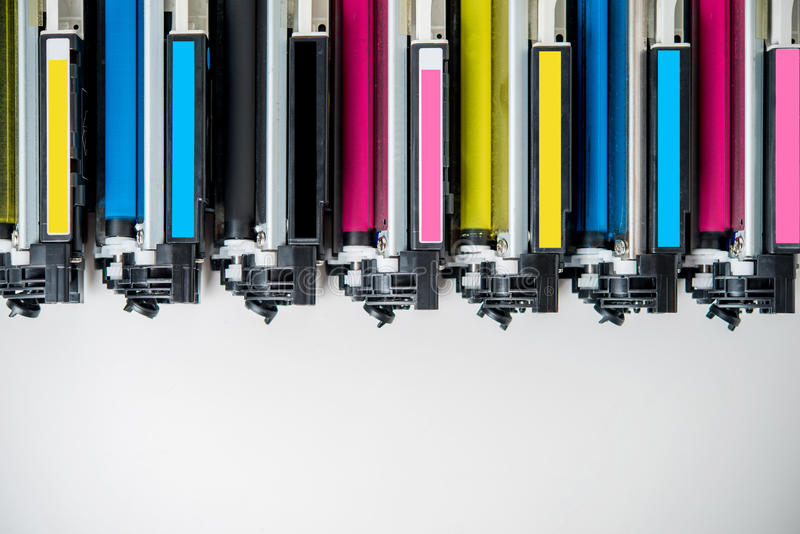 Laser toner cartridge royalty free stock image